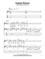 Instant Karma Sheet Music
