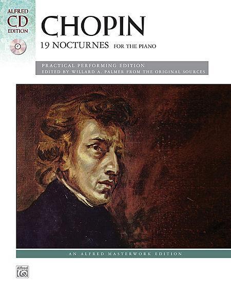 Chopin -- 19 Nocturnes Sheet Music