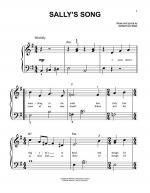 Sally's Song Sheet Music
