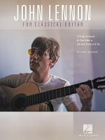 John Lennon for Classical Guitar Sheet Music