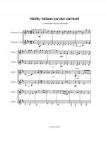 Medley italiano Sheet Music