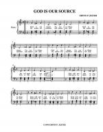 GOD IS OUR SOURCE Sheet Music