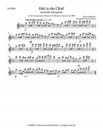 Hail to the Chief for double wind quintet in E Flat Major (arr. Lee), Set of Parts Sheet Music
