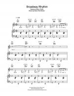 Broadway Rhythm Sheet Music