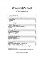 Romanza of the Heart Sheet Music