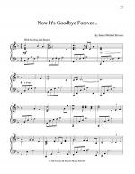 Now It's Goodbye Forever Sheet Music