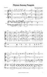 Pilipinas Bansang Pinagpala Sheet Music