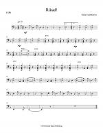 Rikud! (cello part) Sheet Music