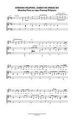 Gurong Pilipino Gabay ng Bukas Ko Sheet Music