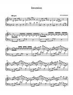 Invention Sheet Music
