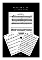 Recorder Blues Sheet Music
