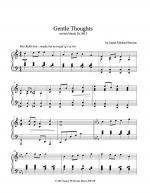 Gentle Thoughts Sheet Music