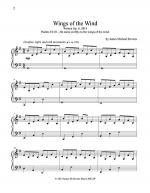 Wing of the Wind Sheet Music