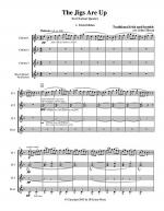 The Jigs are Up - Celtic Music for Clarinet Quartet Sheet Music