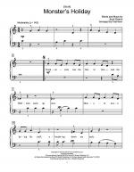 (It's A) Monster's Holiday Sheet Music
