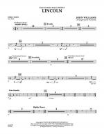 Lincoln - Percussion Sheet Music