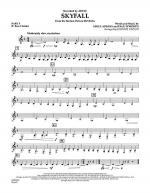Skyfall - Pt.5 - Bb Bass Clarinet Sheet Music