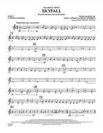 Skyfall - Pt.5 - Eb Baritone Saxophone Sheet Music