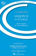 Magnificat in A Minor Sheet Music