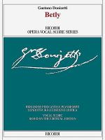 Betly - Opera comica in one act Sheet Music