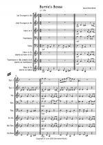 Burnie's Bossa for Brass Quintet Sheet Music