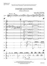 Fanfare Alexander Sheet Music