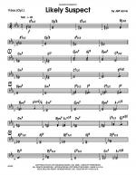Likely Suspect - Vibraphone Sheet Music