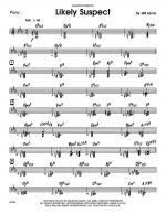 Likely Suspect - Drums Sheet Music