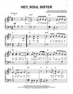 Hey, Soul Sister Sheet Music