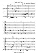 American Patrol for Clarinet Quintet Sheet Music