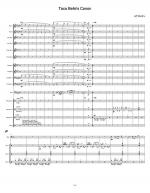 Taco Belle's Canon (score) Sheet Music