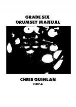 Grade Six Drumset Manual Sheet Music