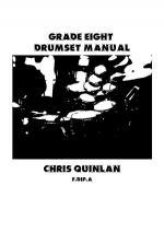 Grade Eight Drumset Manual Sheet Music