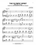 The Olympic Spirit (1988 Olympic Theme) Sheet Music