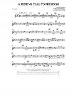 A Festive Call to Freedom - Trumpet 1 Sheet Music