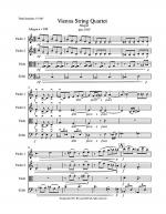 VIENNA STRING QUARTET Sheet Music