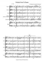 Prelude from Te Deum for String Quartet Sheet Music