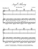 Angels Blessing (Two Piano Duet) Sheet Music