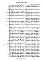 Autumn four seasons for School Orchestra Sheet Music