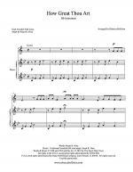 How Great Thou Art (Bb Instrument) Sheet Music