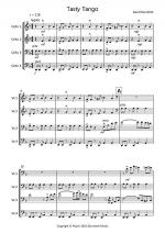 Tasty Tango for Cello Quartet Sheet Music