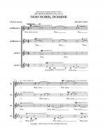 Non Nobis Domine Sheet Music