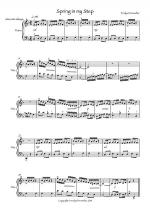 A Spring in your Step Sheet Music