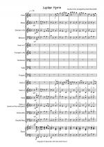 Jupiter Hymn for School Orchestra Sheet Music