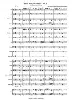 2 Classical Favourites for School Orchestra (volume three) Sheet Music