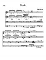 Rondo Sheet Music