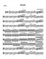 Rondo - Viola part Sheet Music