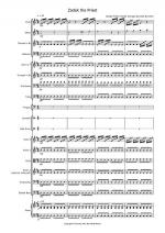 Zadok the Priest for School Orchestra Sheet Music