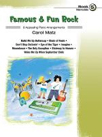 Famous & Fun Rock, Book 5 Sheet Music