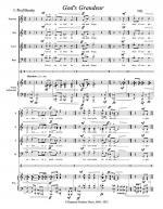 God's Grandeur (2012) vocal score Sheet Music